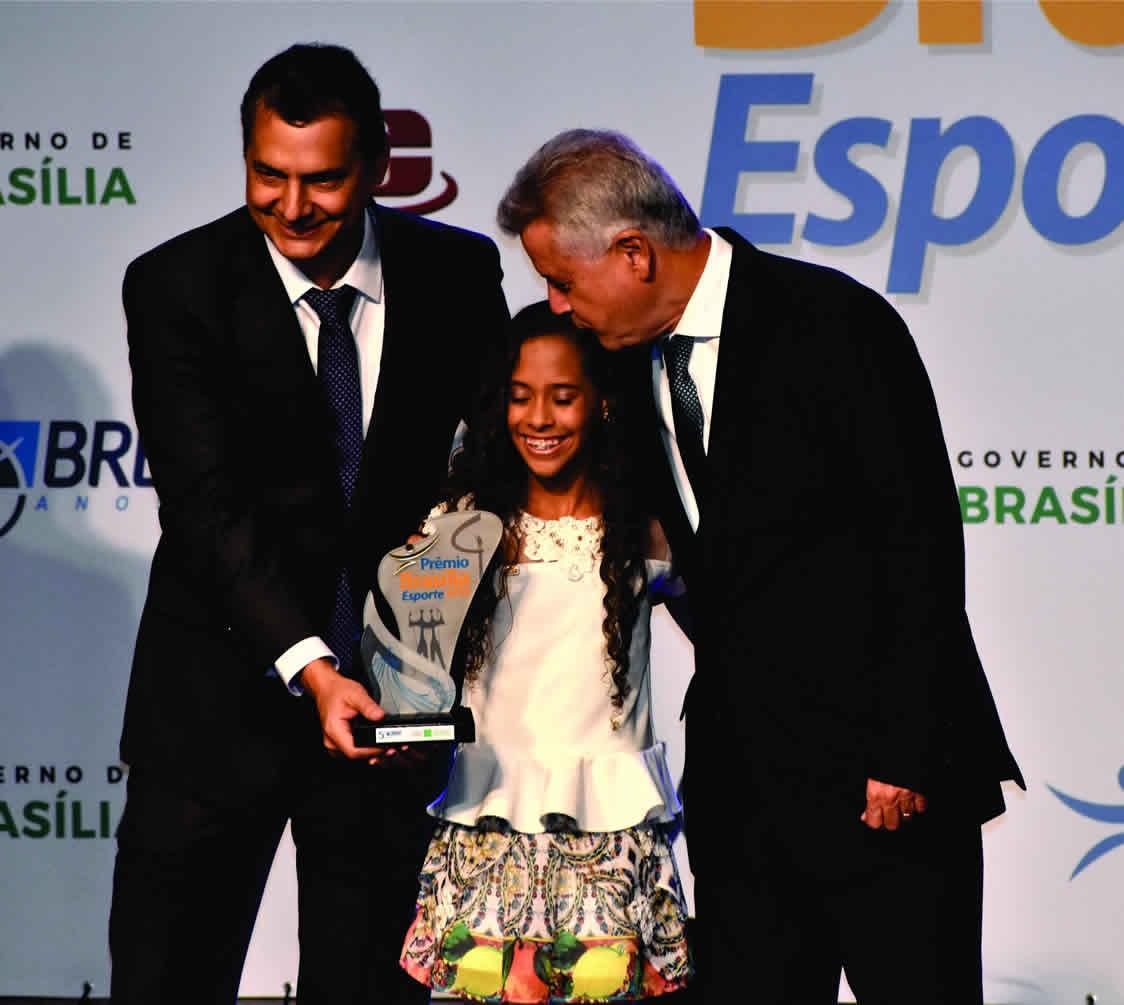 Prêmio Esporte Brasília de 2016 Ginástica Rítmica