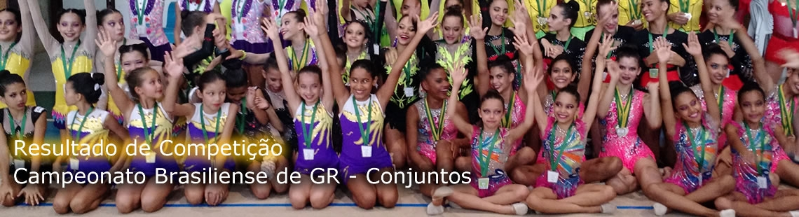 Campeonato Brasiliense de GR - Conjuntos