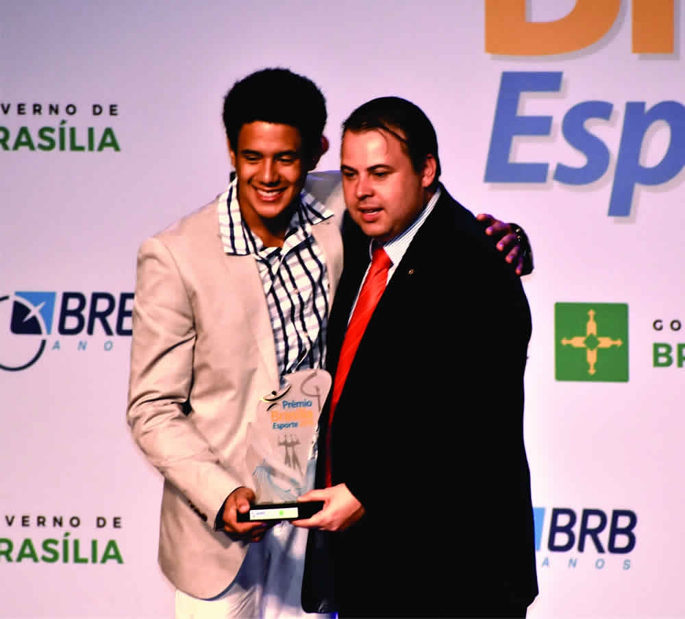 Prêmio Esporte Brasília de 2016 Ginástica Artística